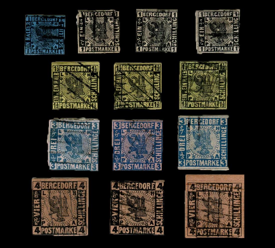 Briefe Briefmarken Gebraucht Sehr Gut 2019 Neuer Stil 5 Alben Briefmarkenalben Bögen
