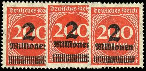 2 Million Mark Briefmarken