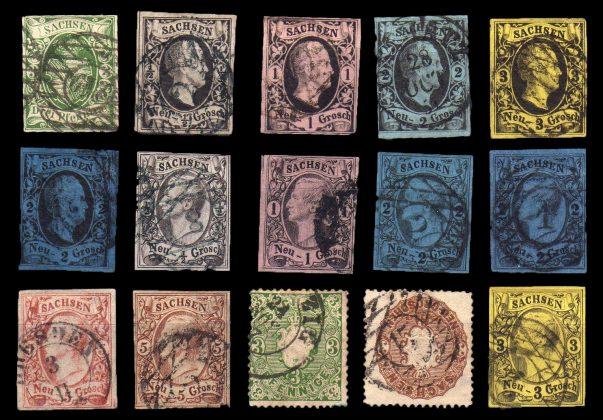 Andere Briefmarken Der Sachsen-Serie