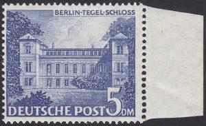 Berlin Michel-Nr 60 II Tertiärer Plattenfehler