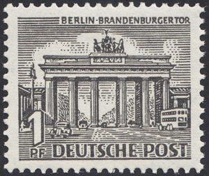 Berlin Michel-Nr. 42 I Primärer Plattenfehler