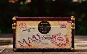 Knochenkiste - Zubehör Briefmarken
