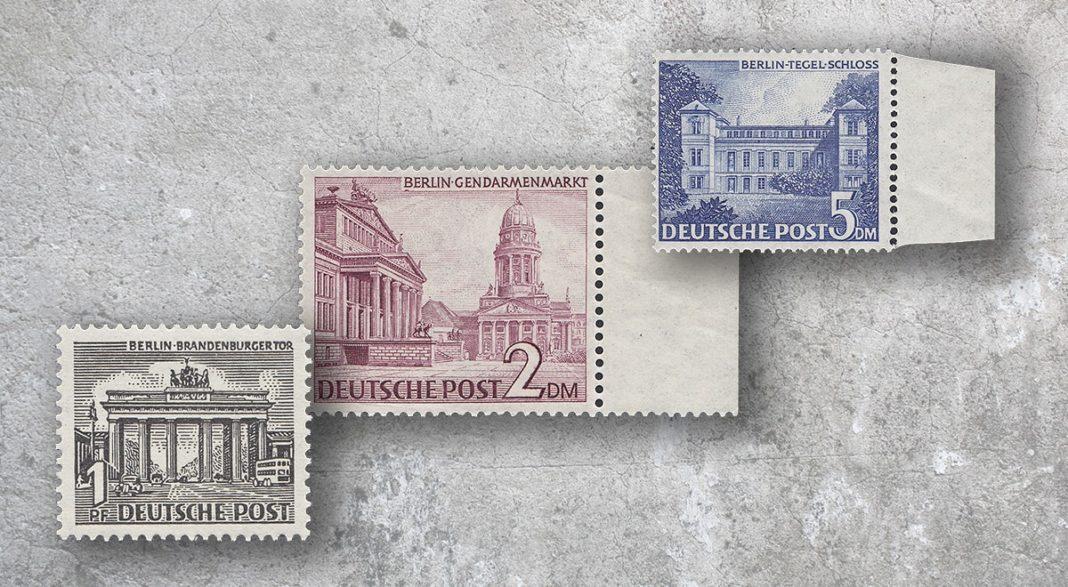 Plattenfehler Berlin Briefmarken