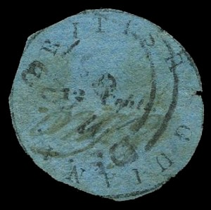 12 Cent - British Guiana Cottonreel
