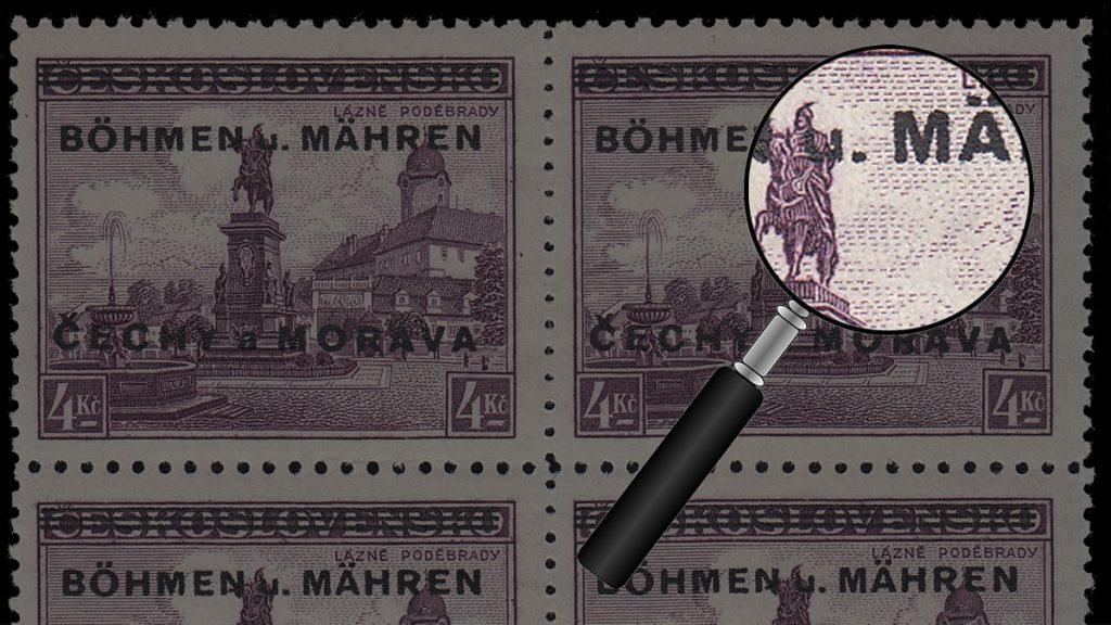 Böhmen und Mähren - Fälschungen Erkennen - Anhand Michel Nr. 17