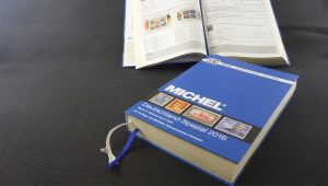 Beispiel eines Michel Katalogs von 2016