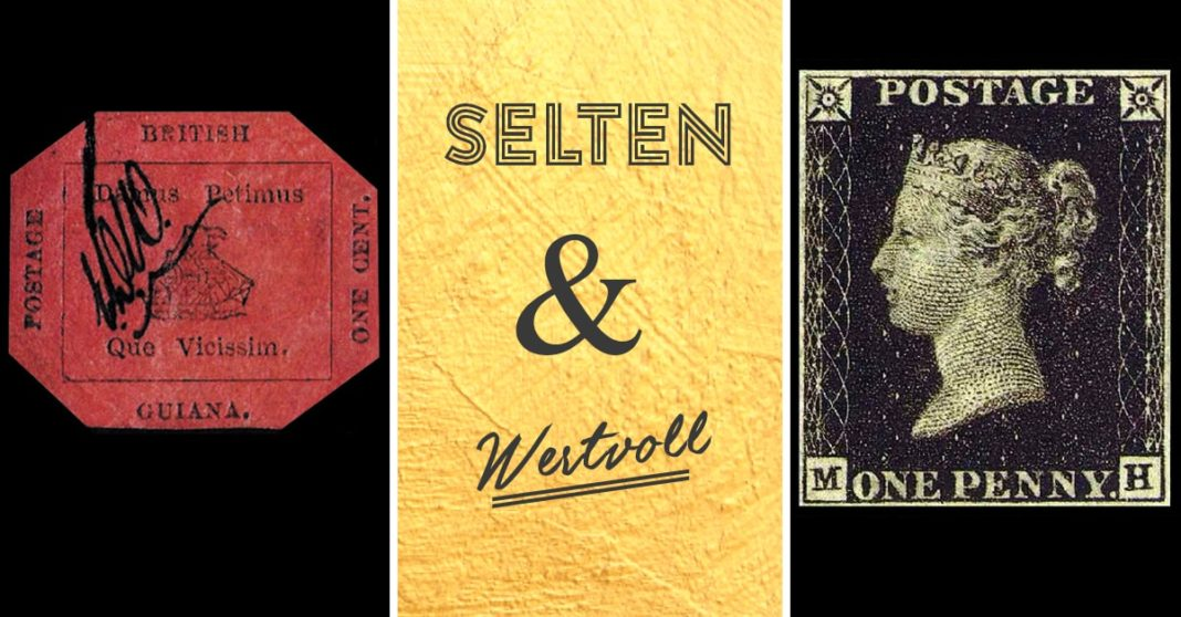 Seltene-wertvolle-Briefmarken-Raritäten-der-Philatelie