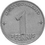 1 Pfennig - DDR - Zweite Serie - Avers