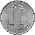 10 Pfennig - 3te Serie - Avers