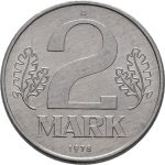 2 Mark - 3te Serie - Avers