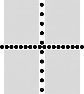 Mischzähnung - Beispiel