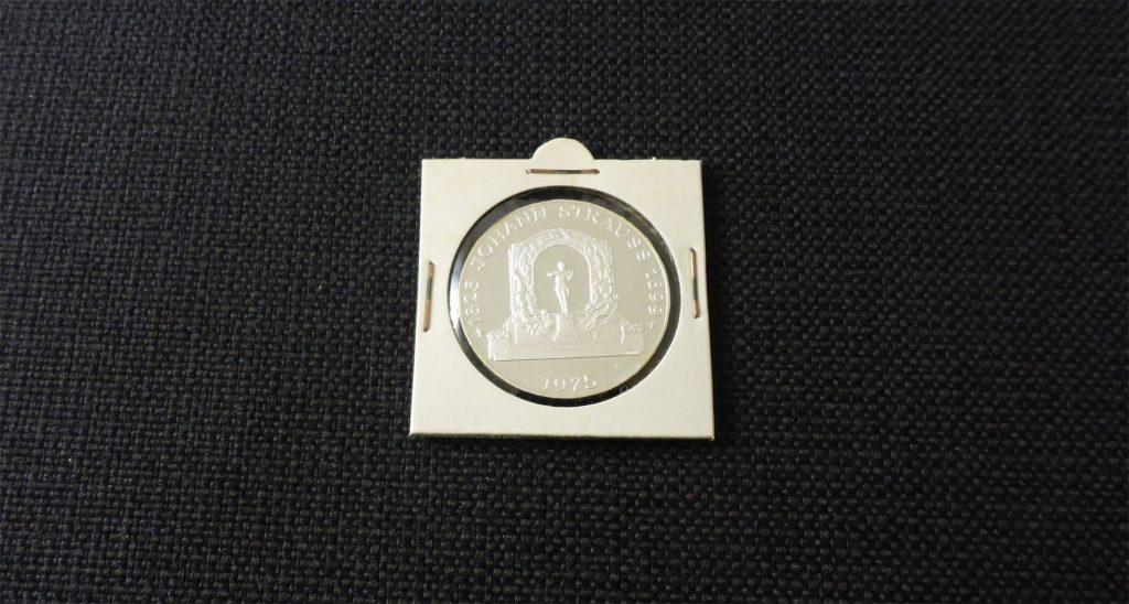 Rahmen für Münzen