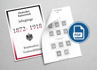 Kaiserreich Vordruckblätter Download