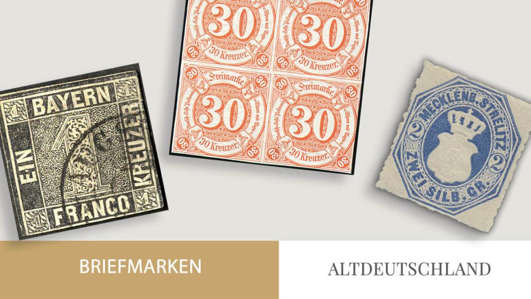 Altdeutschland Briefmarken