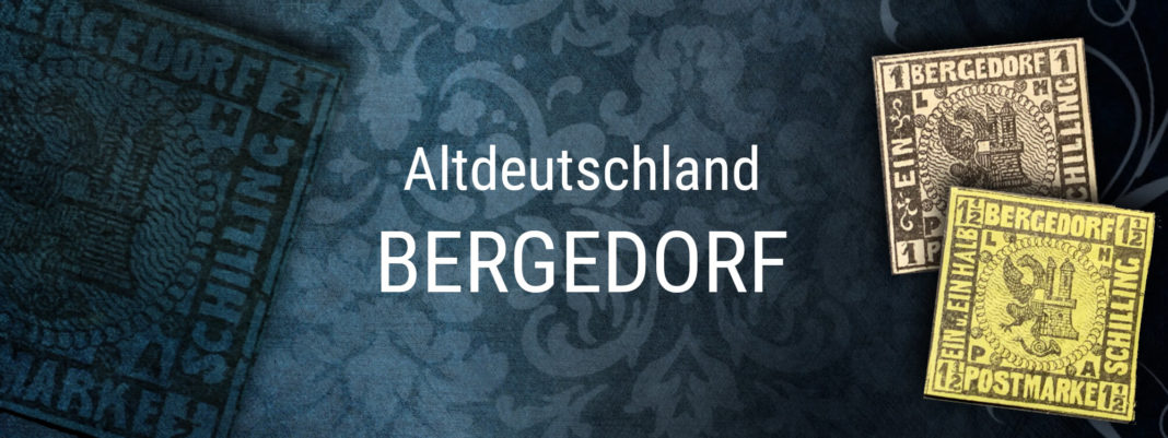 Briefmarken Altdeutschland - Bergedorf