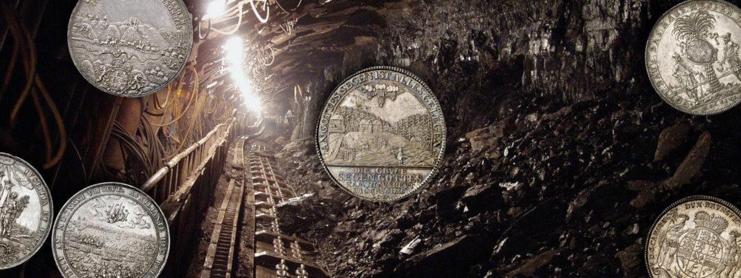 Ausbeutetaler und Bergbauprägungen